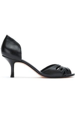 Sarah Chofakian Women Heels - Valencia peep toe pumps