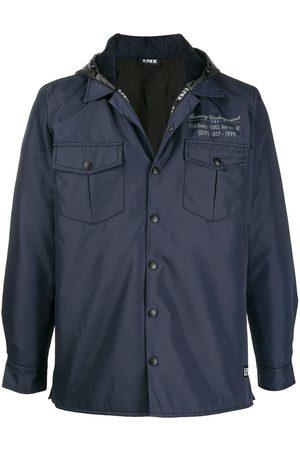 U.P.W.W. Printed shirt jacket
