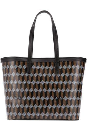 AU DEPART Women Tote Bags - Geometric pattern tote bag