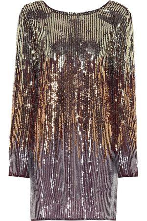 RIXO London Aria sequined minidress