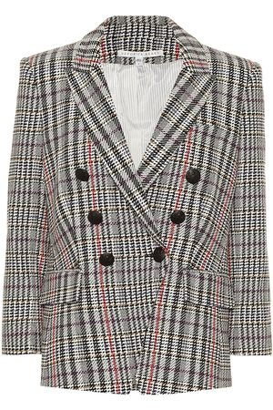 VERONICA BEARD Empire Houndstooth Dickey blazer