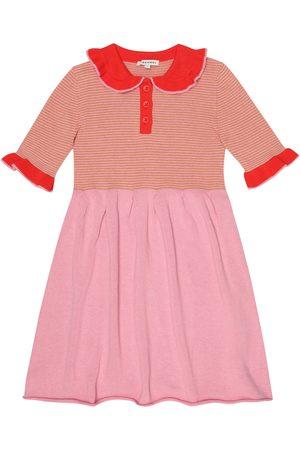 Caramel Portobello striped cotton dress