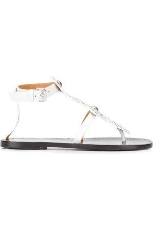 Isabel Marant Ejane eyelet-embellished thong sandals