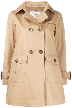 HERNO Women Trench Coats - Patch-pocket trench coat - Neutrals