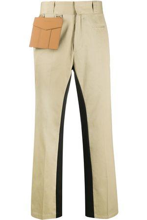 Palm Angels Pocket straight-leg trousers - Neutrals
