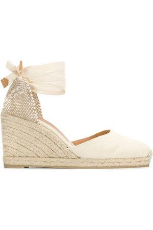 Castaner Wedge heel espadrilles - NEUTRALS