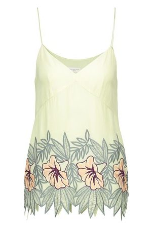 DRIES VAN NOTEN Embroidered vest top