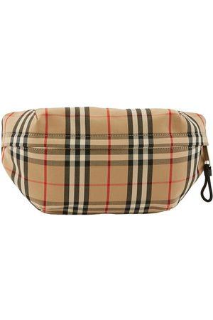 Burberry Men Bags - Medium Vintage Check Bonded Cotton Bum Bag