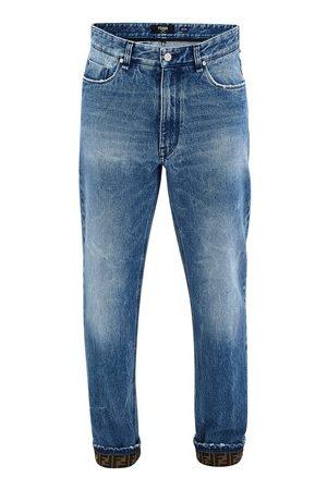 Fendi FF logo jeans