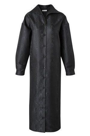 Balenciaga Kaftan-style maxi dress