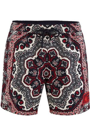 Moncler Printed swim shorts