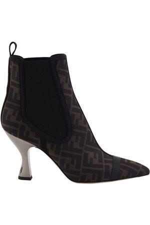 Fendi FF heeled boots