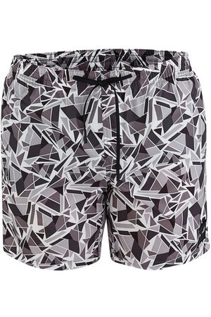 Fendi Cubic Eyes swim trunks