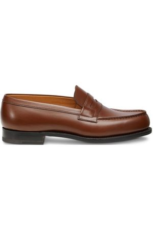 J.M. Weston 180 Calfskin Box Wagtail Moccasin