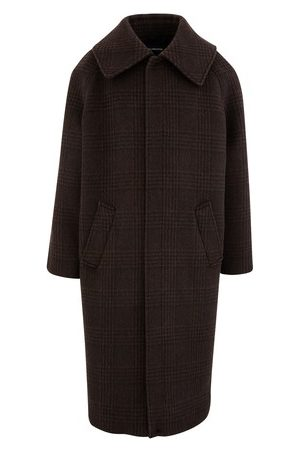 Balenciaga Incognito wool coat