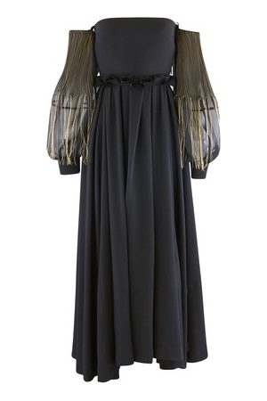 Loewe Off Shoulder long dress