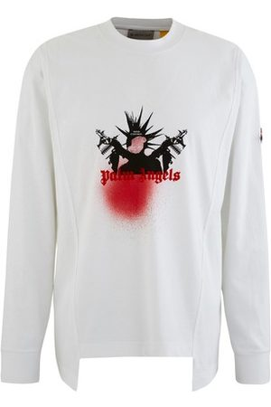 Moncler Genius PALM ANGELS - Maglia long sleeved t-shirt