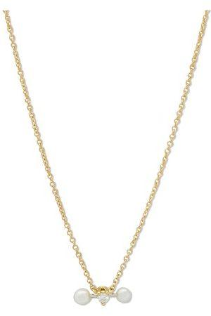 DELFINA DELETTREZ Two in One necklace