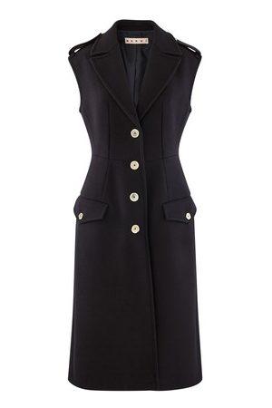 Marni Long sleeveless wool cardigan