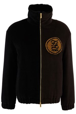 Fendi Men Bomber Jackets - Wool jacket