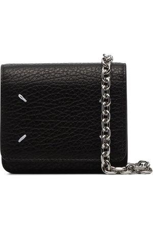 Maison Margiela Four-stitch chain-strap wallet
