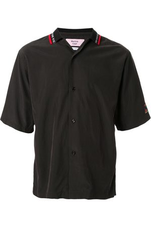 Martine Rose Men Short sleeves - Logo short-sleeve shirt