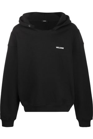 We11 Done Name tag logo hoodie