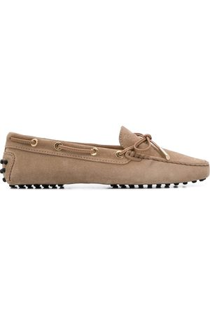 Tod's Women Loafers - Gommino driving shoes - Neutrals