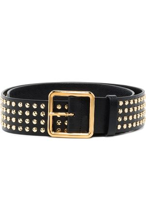 Alexander McQueen Women Belts - Studded buckled belt