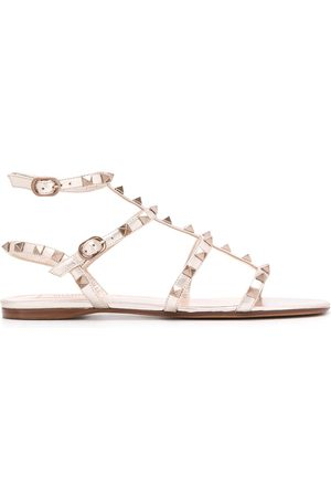 VALENTINO GARAVANI Rockstud caged sandals