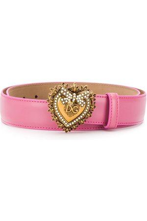 Dolce & Gabbana Women Belts - Devotion buckled belt