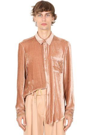 Sies marjan Fluid Viscose & Cupro Chenille Shirt