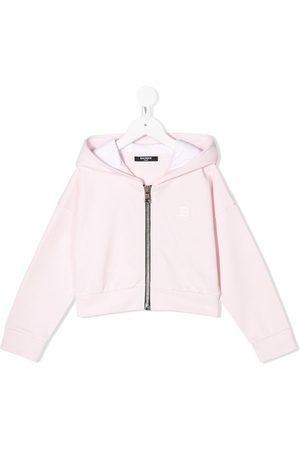 Balmain Girls Hoodies - Dropped shoulder logo hoodie