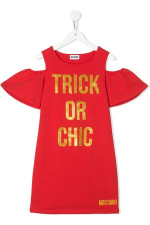 Moschino Trick or chic sweater dress
