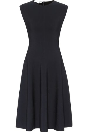 Stella McCartney Compact-knit midi dress