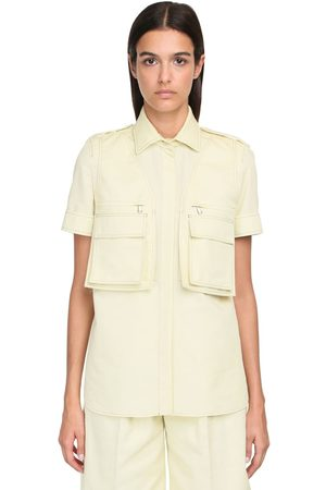 Max Mara Cotton Bull S/s Shirt