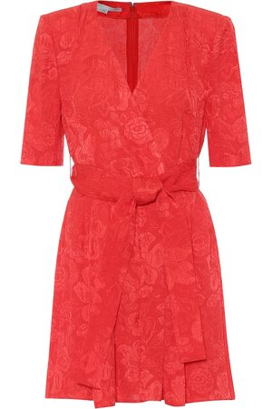 Stella McCartney Mireya silk jacquard playsuit