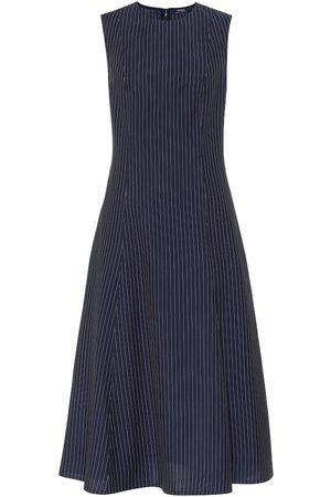 Polo Ralph Lauren Ribbed wool midi dress