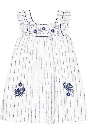 Tartine Et Chocolat Striped cotton dress
