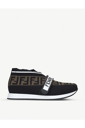 Fendi Love FF-logo low-top sneakers