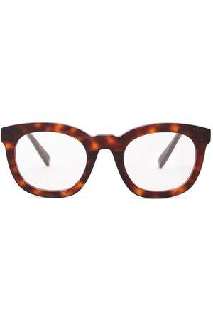 Céline Women Round - Round Tortoiseshell-effect Acetate Glasses - Womens - Tortoiseshell