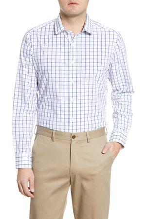 Mizzen+Main Men's Leeward Trim Fit Check Button-Up Shirt
