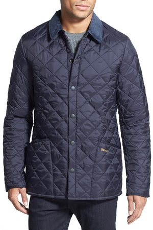 Barbour Men's Liddesdale Tailored Fit Quilted Nylon Jacket