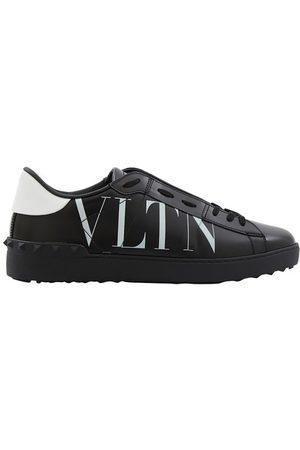 VALENTINO Garavani printed VLTN calfskin trainers