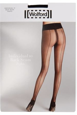 Wolford Individual 10 Back-seam Tights - Womens