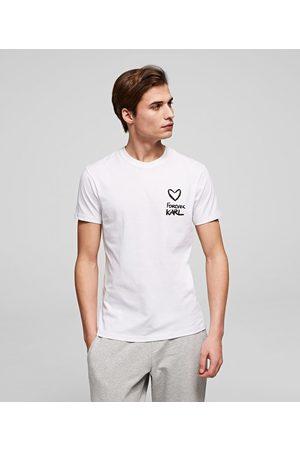 Karl Lagerfeld Men T-shirts - FOREVER KARL T-SHIRT