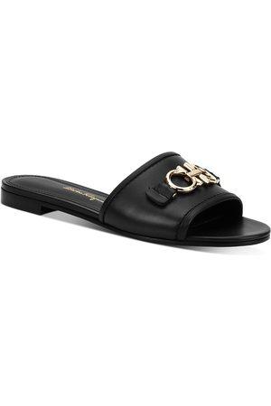 Salvatore Ferragamo Women's Embellished Slip On Sandals