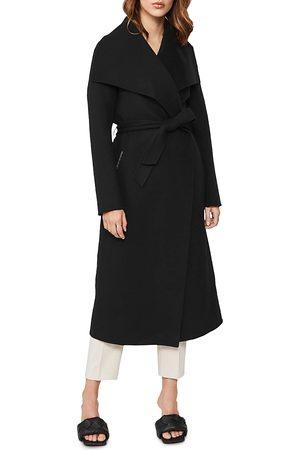 Mackage Mai Lightweight Wool Wrap Coat