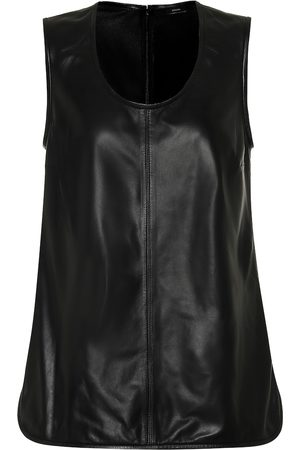 Joseph Leather tank top