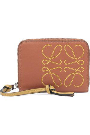 Loewe Brand 6 leather wallet